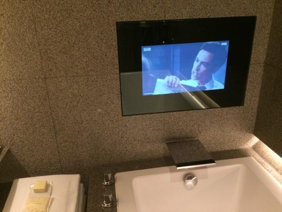 Park Hyatt Busan Built In Wall Tv Over The Bath Tub Luxury