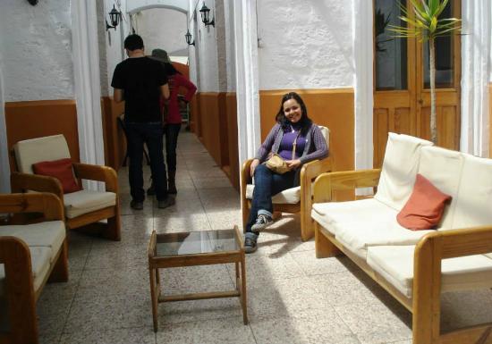 Hostal Nunez : Hall del Hostal