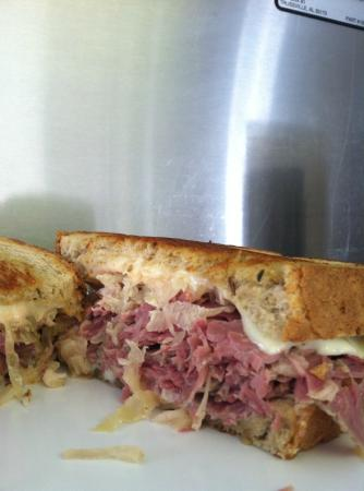 J Creek Cafe: Our awesome Reuben!