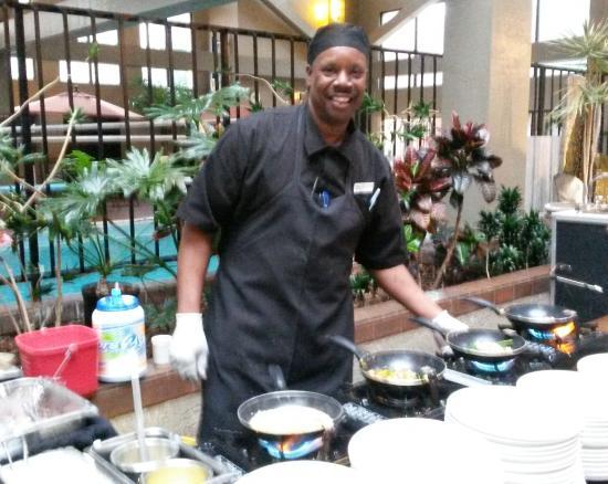 breakfast buffet chef orlando picture of the academy hotel rh tripadvisor co za Golden Corral Breakfast Buffet Fancy Breakfast Buffet