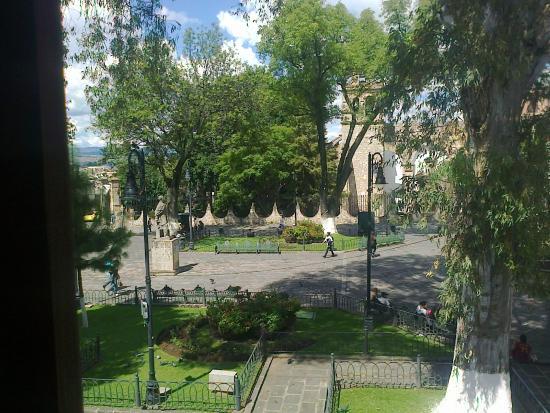 Hotel El Carmen: Plaza del Carmen