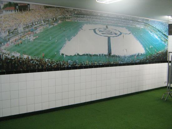 vista parcial do campo - Foto de Estadio do Santos Futebol Clube ... 861e82c82318d