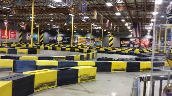 Pole Position Raceway- Indoor Karting
