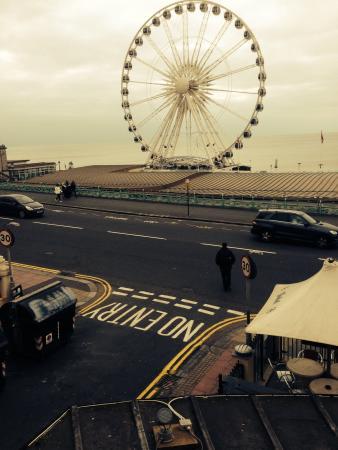 Amsterdam Hotel Brighton: Balcony view