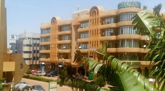 Hotel Palm Beach: From the Hotel room overlooking 10 Avenue Kwame N'Krumah