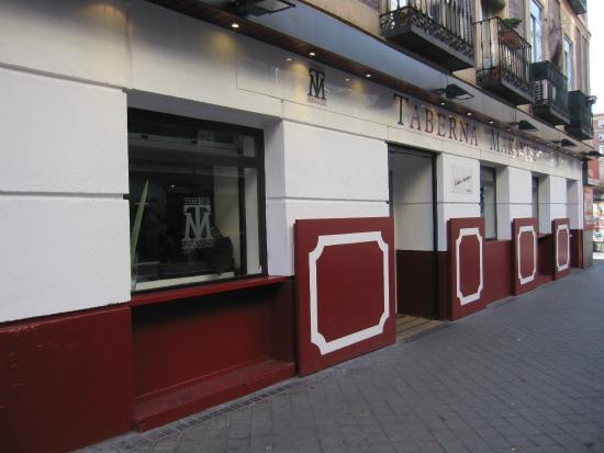 Calle De Garcia De Paredes A La Altura Del Local Picture Of