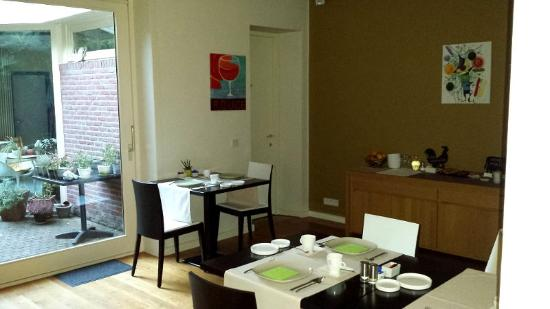 Bed and Breakfast saBBajon: The breakfast room