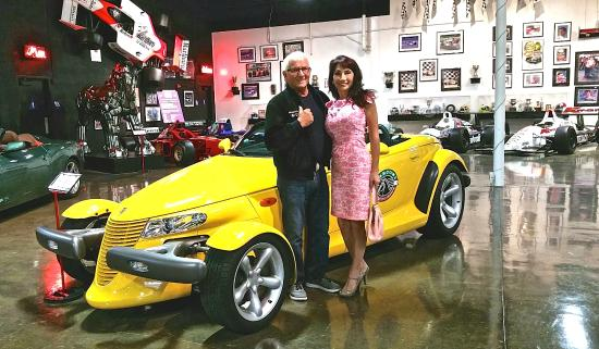 Marconi Automotive  Museum : Dick Marconi, Founder and Loren Blackwood