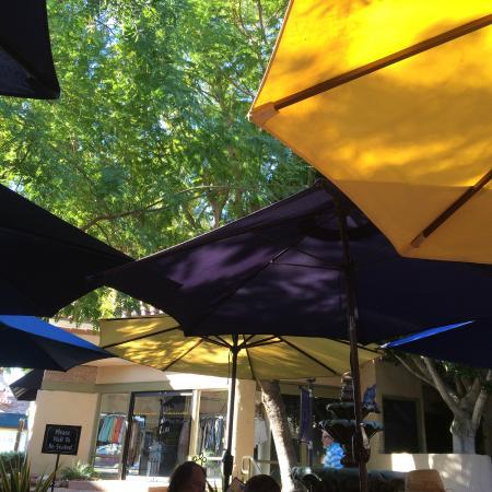J C's Patio Cafe: We love JC's Patio Cafe Under the Umbrellas