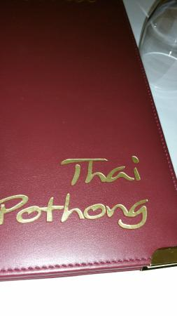 Thai Pothong: name of restaurant