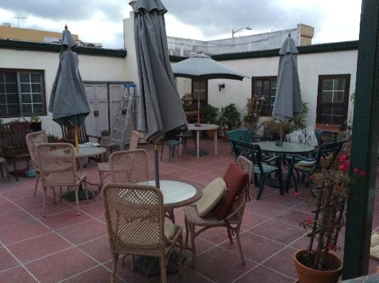 Hotel California: Roof Top Patio