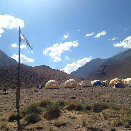 Colanguil Adventure & Expeditions : confluencia camp