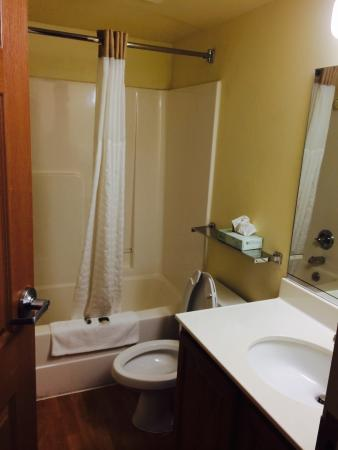 Extended Stay America - Jackson - East Beasley Road : Bathroom