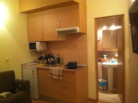 Apartamentos Duque de Alba: Cozinha