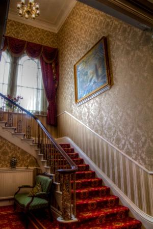 Hackness Grange Country House Hotel: The Grand Staircase