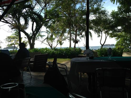 Claudio y Gloria: View from our table