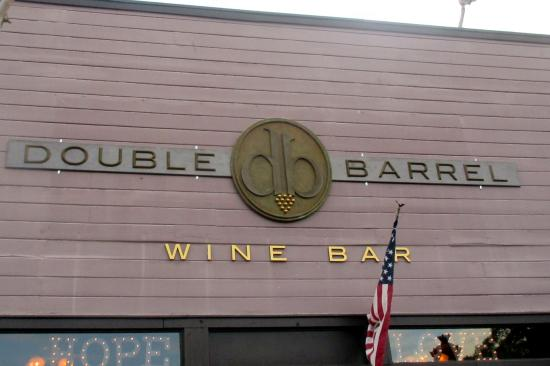 ‪Double Barrel Wine Bar‬