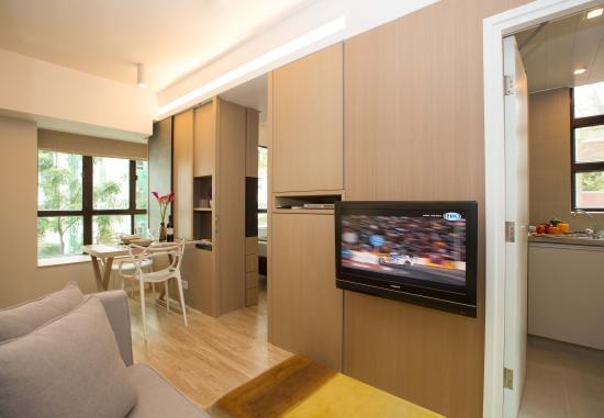 Eaton Residences, Wan Chai Gap Road: Designer Studio