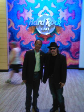Hard Rock Hotel & Casino Biloxi: One of the famous Stage singer