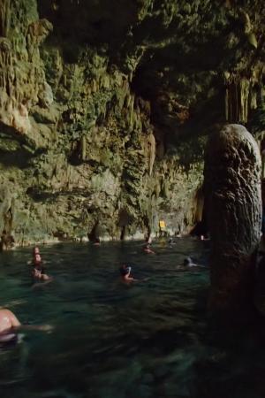 Saturno Cave Natural Pool