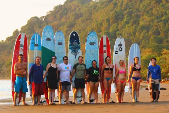 Kalon Surf - Surf Coaching Resort : Playa Dominicalito, Dominical, Costa Rica