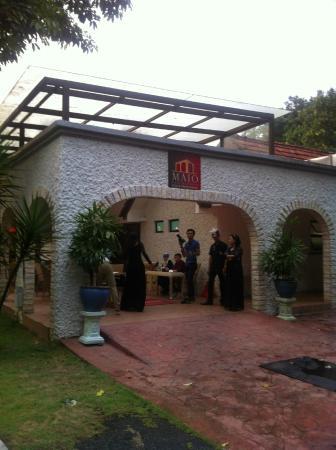 Maio Restaurant: Frontage