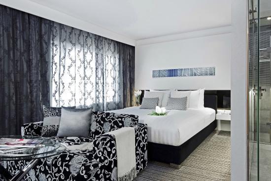 Metropark Hotel Wanchai Hong Kong : Executive Studio