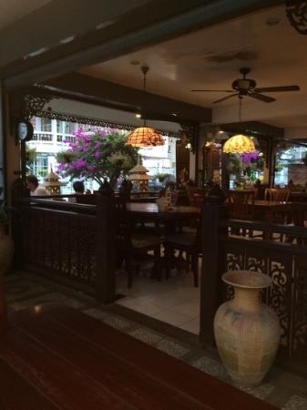 Restaurant Aroy : view of restaurant from table
