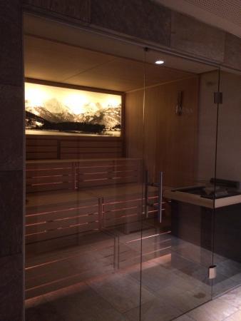 Hotel St. Georg: La sauna della SPA