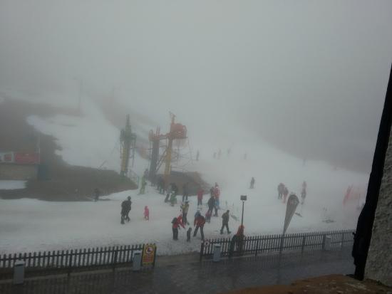 Hotel SERHS Ski Port Del Comte: Vistas desde la habitación