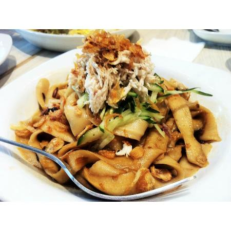 Red Onion Cafe: Chicken Flat Noodles