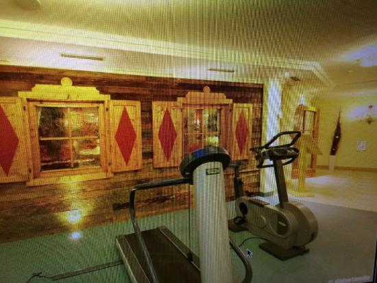Hotel Tirolerhof: Das Beste überhaupt Fitnessecke vorm Ruheraum