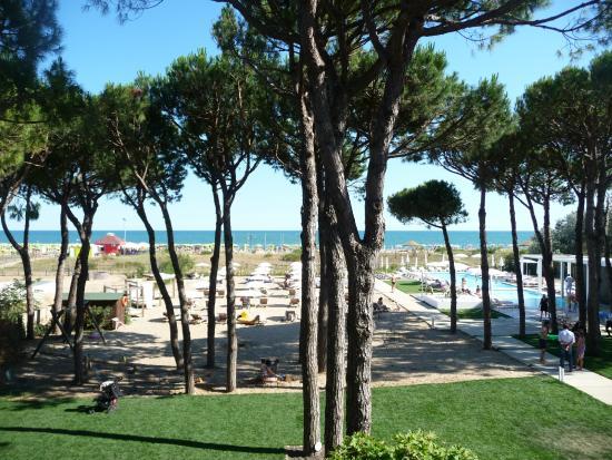 Hotel Mediterraneo: Vista Esterno dall'alto