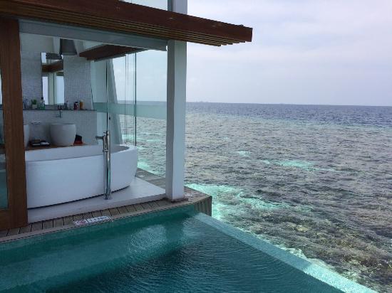 Nord Ari Atoll: salle de bain