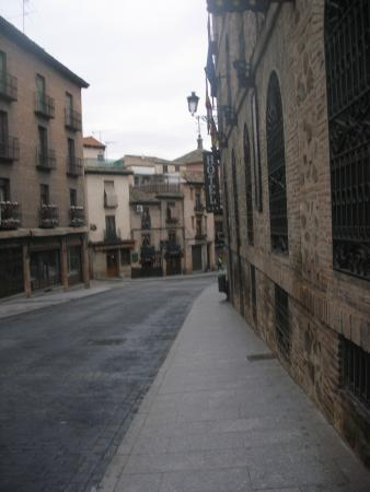 Hotel Real : calle del hotel