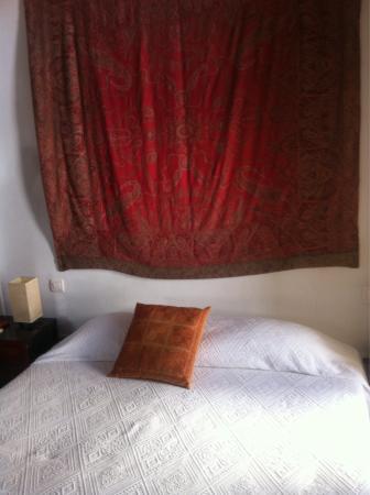 Casa Aire de Lecrin: La cama