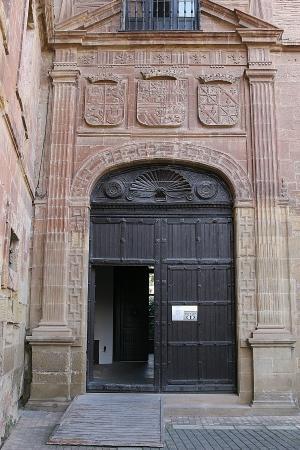 Monasterio de Santa Maria La Real: Pórtico de la entrada