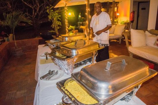 ‪‪Hotel Diani House‬: Evening buffet‬