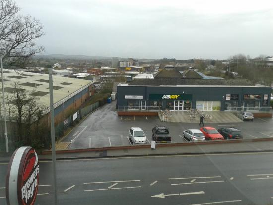 Premier Inn Exeter (M5 J29): View from our room