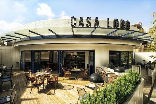 Casa Lobo Día Terraza Photo De Casa Lobo Madrid Tripadvisor
