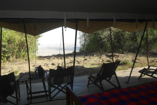 Mara Siria Camp: View from the tent