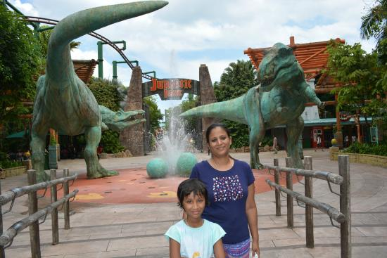 jurassic park... - Picture of Universal Studios Singapore ...