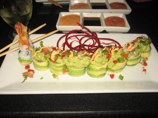 The mexicano picture of mamasushi new york city for Amaze asian fusion cuisine new york ny