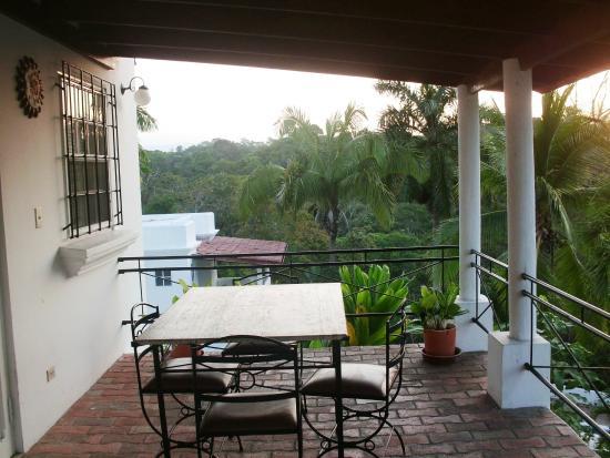 Hotel Casitas Eclipse: Terraza