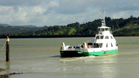 ferry across Hokianga Harbour at Rawene