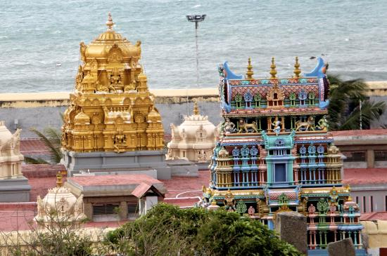 Hotel Samudra : Kanya Kumari temple
