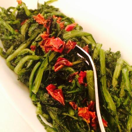 LAloCAnda: Artichoke and red peppers