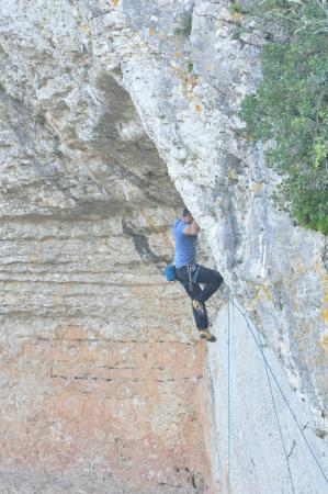 Condeixa-a-Nova, Portugal: Climbing on location.
