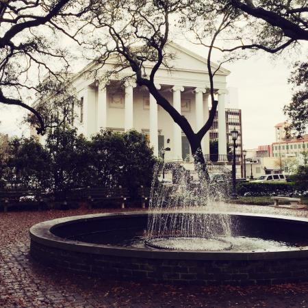 Johnson Square: 1733 General James Oglethorpe designated the ground upon which Christ Church stands. John Westle