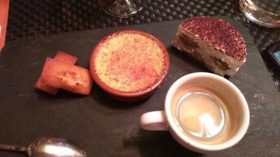 Autour de: Trio dessert